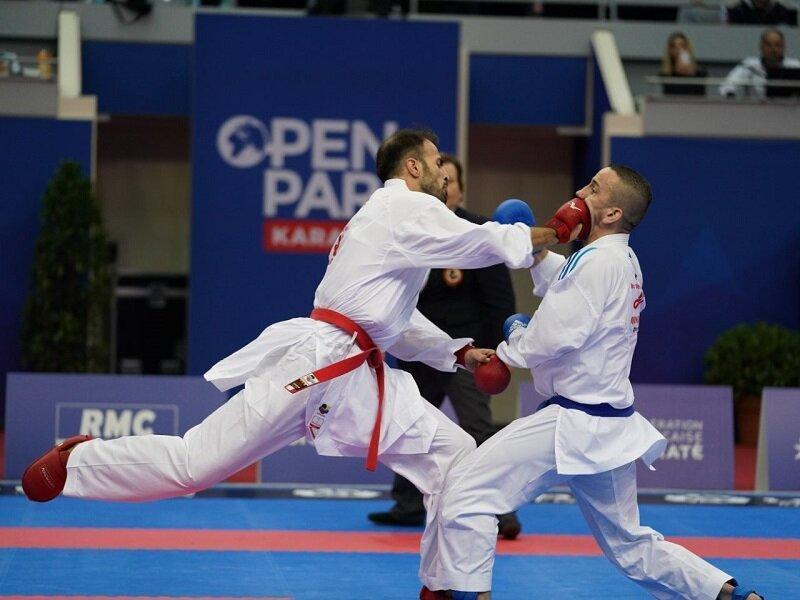 سومین مرحله لیگ برتر کاراته وان 2020؛ عسگری طلایی شد