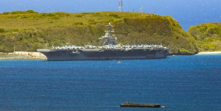 خشم ساکنان جزیره گوام از حضور نظامیان آمریکایی مبتلا به کرونا