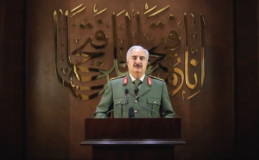واکنش های جهانی به اعلام رهبری حفتر