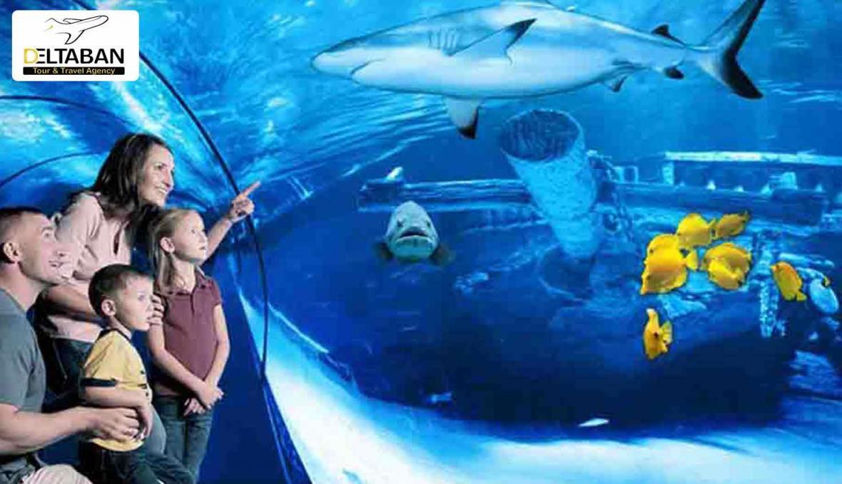آکواریوم آنتالیا، اقیانوسی در دل زمین