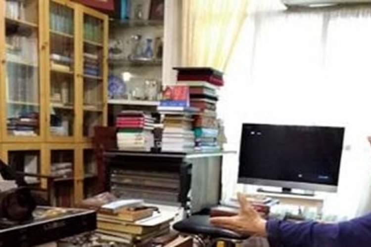 رئیس کتابخانه ملی به دیدار سیدعبدالله انوار رفت
