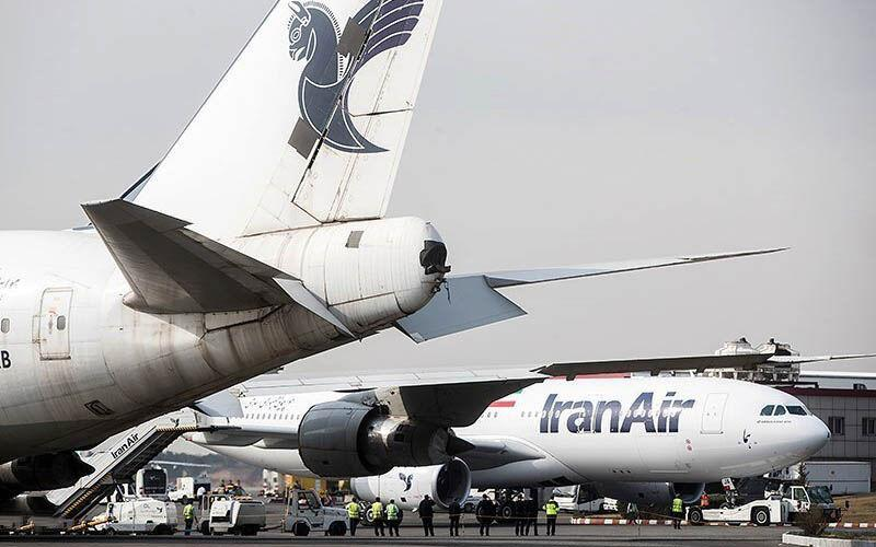 خبرنگاران پرواز فوق العاده ایران ایر به رم